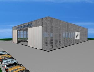Проект 2-х этажного склада